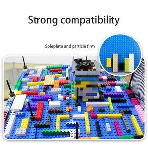Image 4 - 50*50 Dots Quality BasePlate Compatible All Major Brand Building Blocks DIY Base Plate 40*40cm Educatioinal Bricks Toys for Kids