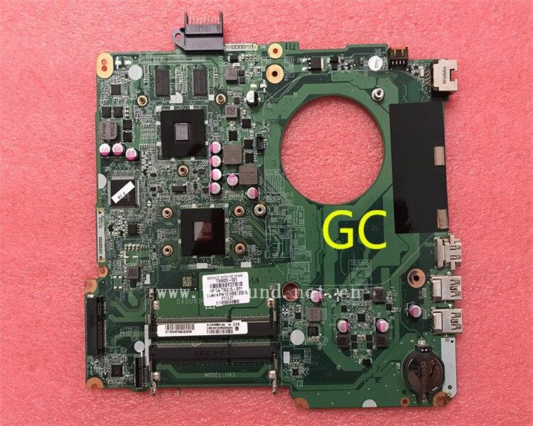 все цены на laptop Motherboard For 15-N 15Z-N DA0U93MB6D0 734820-501 734820-001 system mainboard Fully Tested онлайн