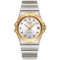 GUANQIN GQ00896 Созвездие серии автоматические механические Топ люксовых брендов часы любителей relogio masculino