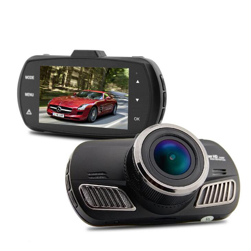 QUIDUX New Ambarella A12 Car Dvr Camera Video Recorder HD 1440P with GPS Dash Cam Video Recorder Dashboard Camera Blackbox 2.7