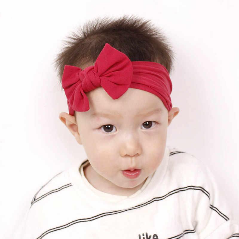 1 PC เด็กน่ารักเด็กวัยหัดเดินทารก Bowknot Headband Hairband Headwear ใหม่มาถึง