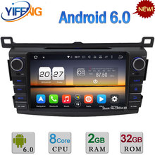 8″ 32GB ROM Octa Core WIFI Android 6.0 2GB RAM 3G/4G DAB+ Car DVD Multimedia Player Radio Stereo For Toyota RAV4 2013 2014 2015