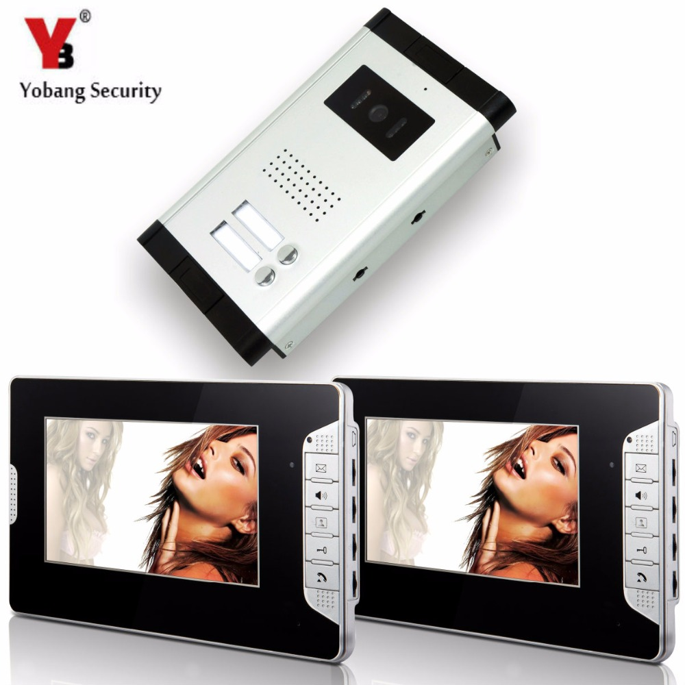 YobangSecurity 2 Units Apartment Video Intercom 7