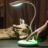 ITimo Dimmable Book Reading Light Table Lamp Rechargeable Home Decoration LED Desk Lamp USB Charging Touch