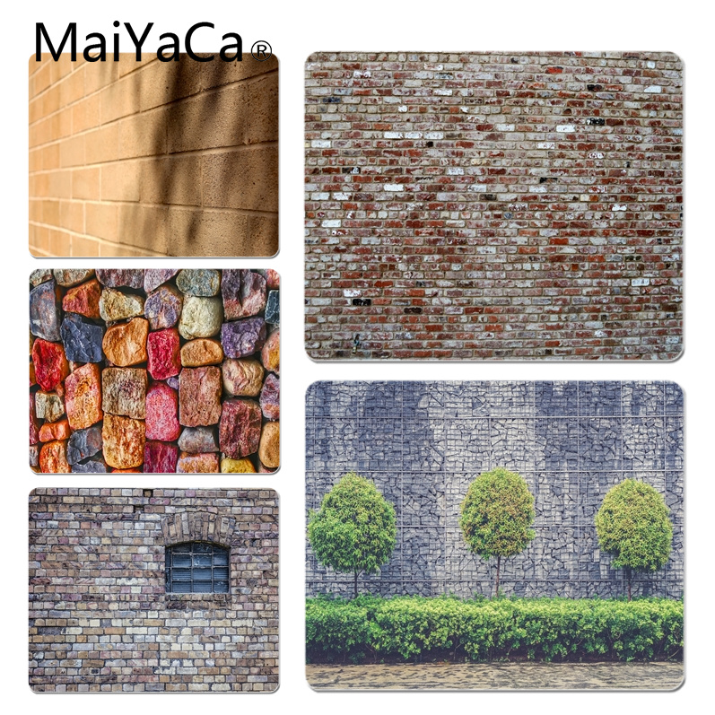 MaiYaCa Retro Wall Customized laptop Gaming mouse pad Size for 18x22x0.2cm Gaming Mousepads