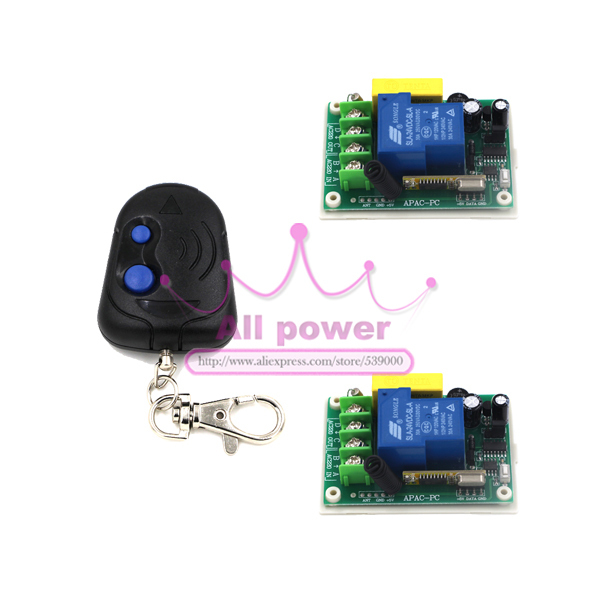 Wireless Remote Control Power Switch 220V 30A RF 3000W 100M and Controller <font><b>System</b></font> For <font><b>Smart</b></font>/Intelligent Home light/<font><b>LED</b></font>