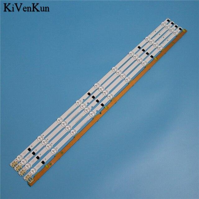 """650mm 9 Lampen Led hintergrundbeleuchtung Streifen Für Samsung UE32F4020AW 32 """"D2GE 320SC0 R3 2013SVS32H 2013SVS32F Bars Kit Fernsehen FÜHRTE Bands"""