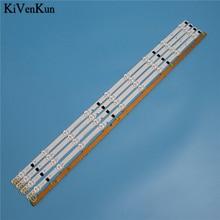 """650mm 9 lampes LED rétro éclairage bande pour Samsung UE32F4020AW 32 """"D2GE 320SC0 R3 2013SVS32H 2013SVS32F barres Kit télévision LED bandes"""