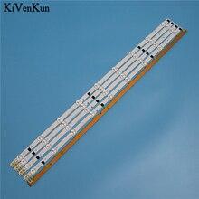 """Tira de luz de fondo LED de 9 lámparas de 650mm para Samsung UE32F4020AW 32 """"D2GE 320SC0 R3 2013SVS32H 2013SVS32F Kit de barras de televisión bandas LED"""