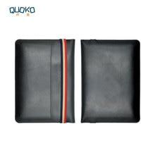 Laptop çantası kılıf Mikrofiber Deri Kol Dell XPS 13 15 9360 9370 9560 9570 Renkli elastik bant Stil kollu