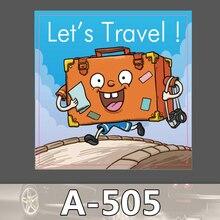Bevle A-505-MISCHER-HAHN-HAHN TV channer Wasserdicht Mode Kühle DIY Aufkleber Für Laptop Gepäck Skateboard Kühlschrank Auto Graffiti Cartoon Aufkleber
