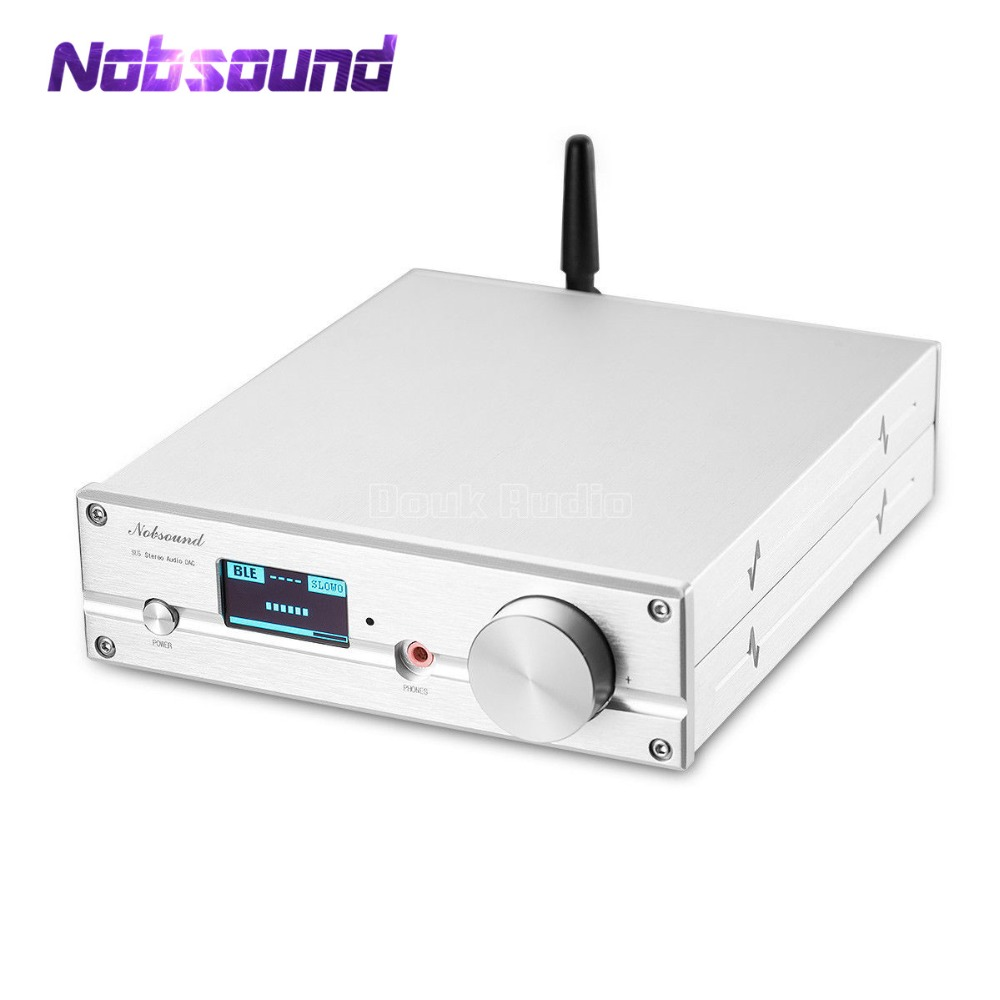 Hifi Bluetooth Us 179 99 10 Off Hifi Es9038q2m Dac Bluetooth 5 Usb Xmos Audio Decoder Stereo Dsd512 Aptx Hd Desktop Mini Amplifier With Headphone Jack In