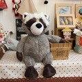 Nici juguete de felpa muñeca de peluche pequeño mapache lindo cuento coon animal padres e hijos bebé de cumpleaños regalo de navidad 1 unid