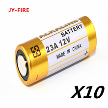 10pcs/Lot Alkaline  Battery 23A 12V 21/23 A23 E23A MN21 MS21 V23GA L1028 Small Battery 5pcs lot alkaline battery 12v 23a dry batteries 21 23 a23 e23a mn21 ms21 v23ga l1028 for doorbell car alarm remote control etc
