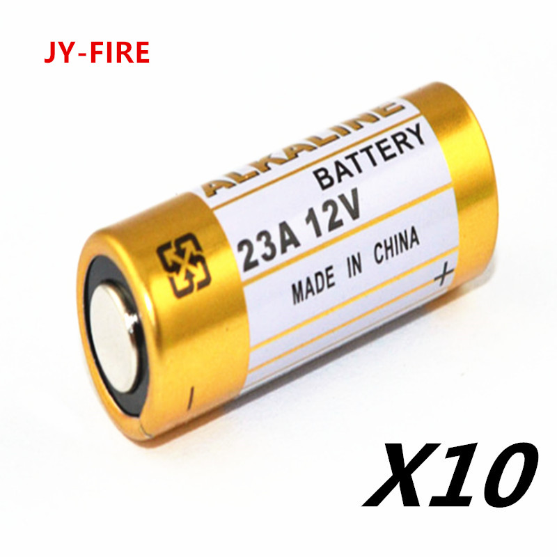 10pcs/Lot Alkaline <font><b>Battery</b></font> 23A <font><b>12V</b></font> 21/23 <font><b>A23</b></font> E23A MN21 MS21 V23GA L1028 Small <font><b>Battery</b></font> image