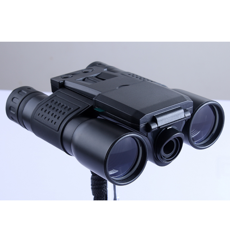 2 LCD HD 720P 12X32 Zoom Digital Binoculars Telescope Video Camera 2 lcd screen cmos hd 720p usb digital binocular telescope 96m 1000m zoom telescopio dvr binoculars photo camera video recording