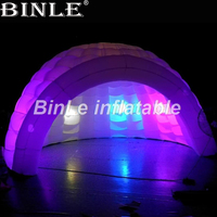 2018 Hot sale led inflatable dome tent inflatable marquee inflatable igloo tent for events