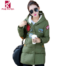 Thick Long Down Womens Winter Jackets and Coats 2016 Parka White Jacket   Ladies Coat NMY021