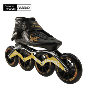Professional New Speed Skate Shoes Adults/Kids Carbon Fiber Roller Skating Women/Men 4 Wheels Inline Skates Boots
