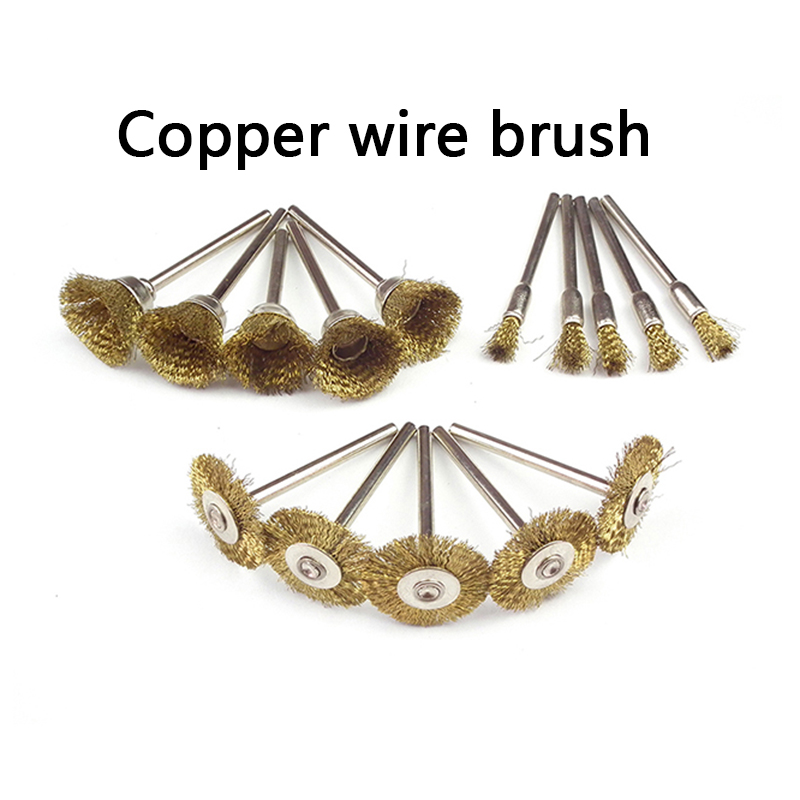 30 de piese Dremel Rotary Steel Wire Brush Seturi cu accesorii Dremel - Instrumente abrazive - Fotografie 3