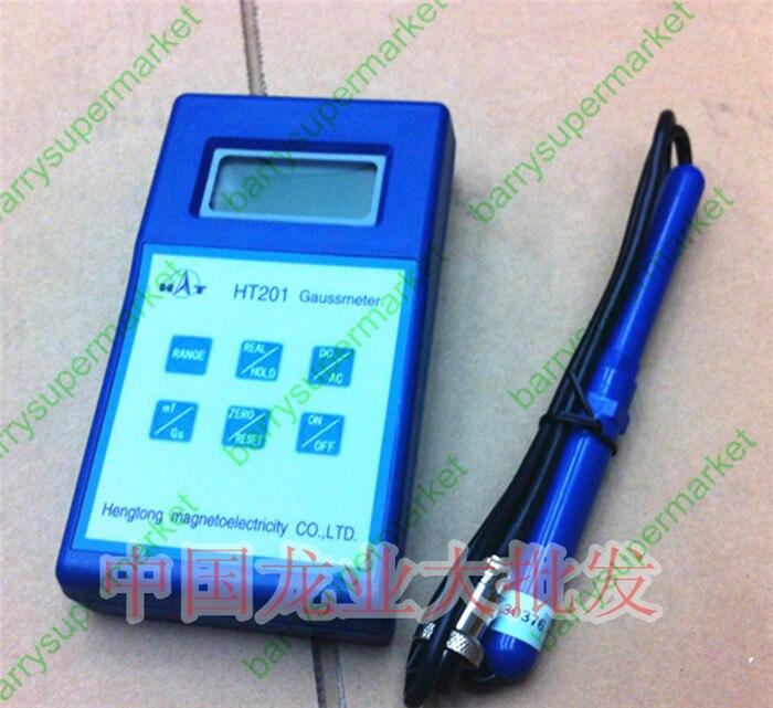 HT201 Digital Gauss Meter Tesla Meter HT-201 Fluxmeter For Magnetic Field Magnets цена