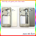 Original New For Samsung Galaxy Grand Prime G530 Middle Bezel Frame Rear Housing Battery Door Case Cover+Rear Camera Glass