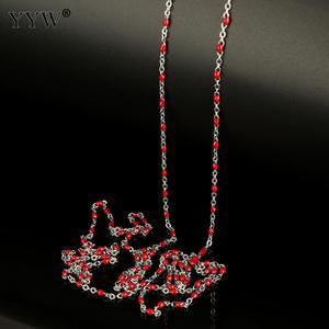 Image 5 - 10 m/Spool מתכת שרשרת עבור תכשיטי ביצוע נירוסטה שרשרת רול DIY שרשרת שרשרת צמידי תליון גברים נשים תכשיטים
