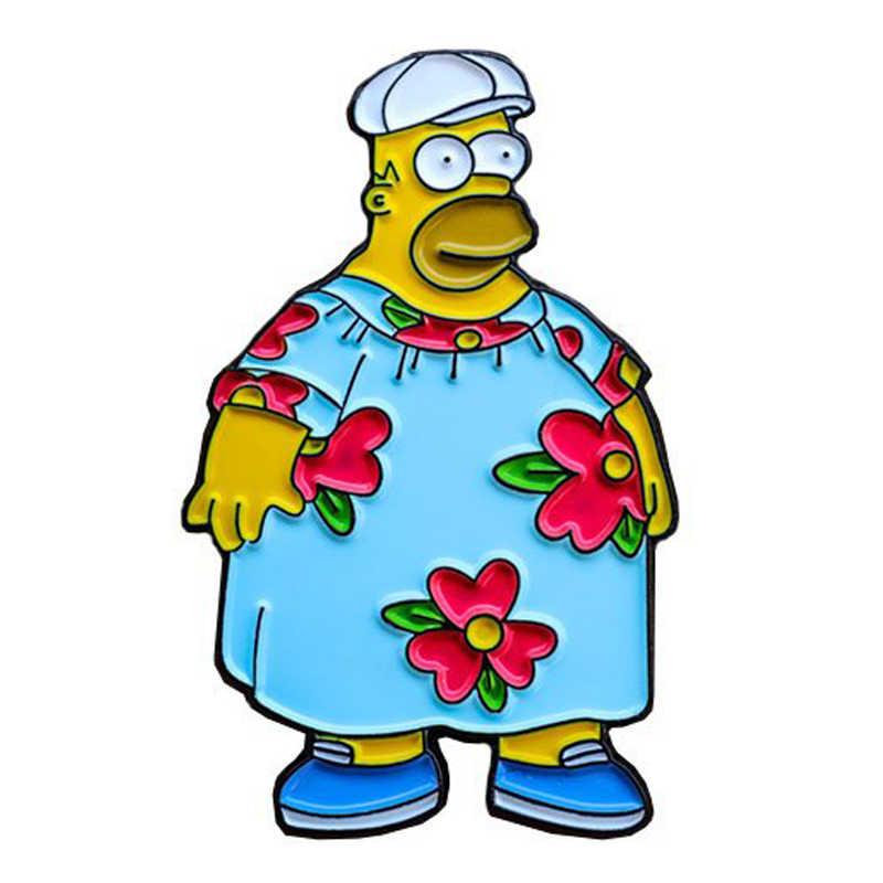 Simpsons Pino de Esmalte