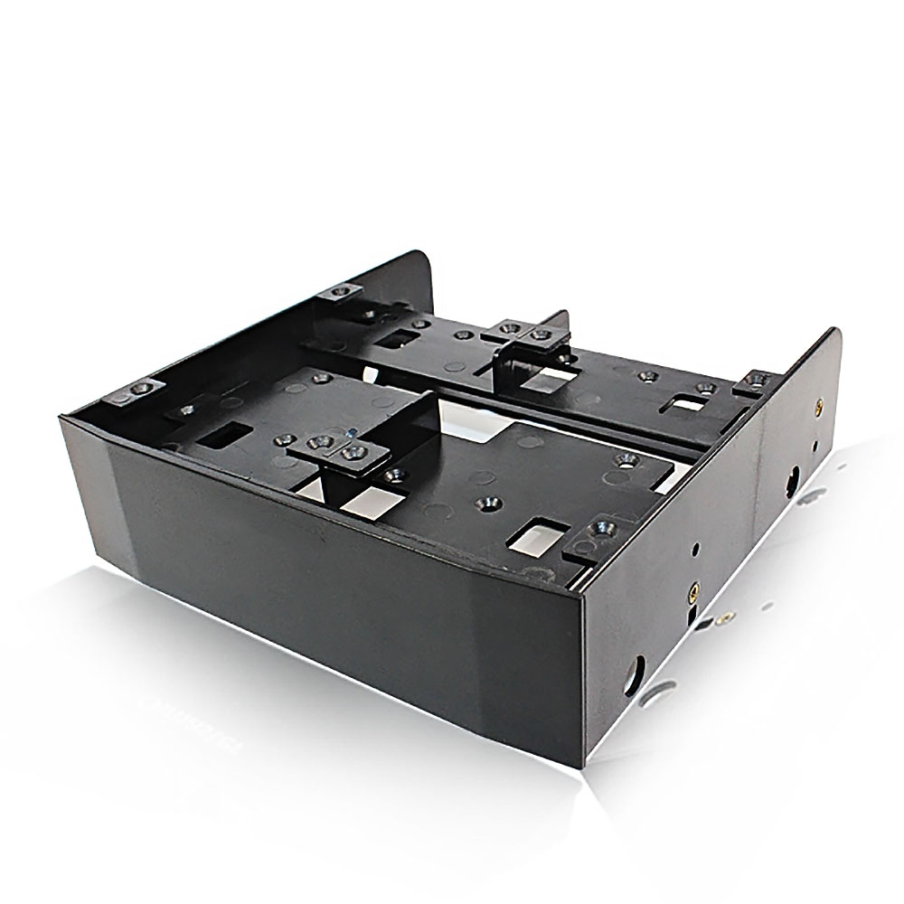 5 25inch To 3 5inch 2 5inch Hdd Ssd Floppy-Drive Bay ray Bracket Mounting HDD Adapter SSD Hard Drive Supports up to 6 2 5inch hard drives