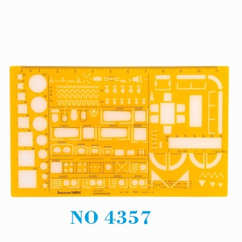 1:50 Architecture Decoration Furniture Design Symbols Drawing Drafting Template Stencil  No 4357