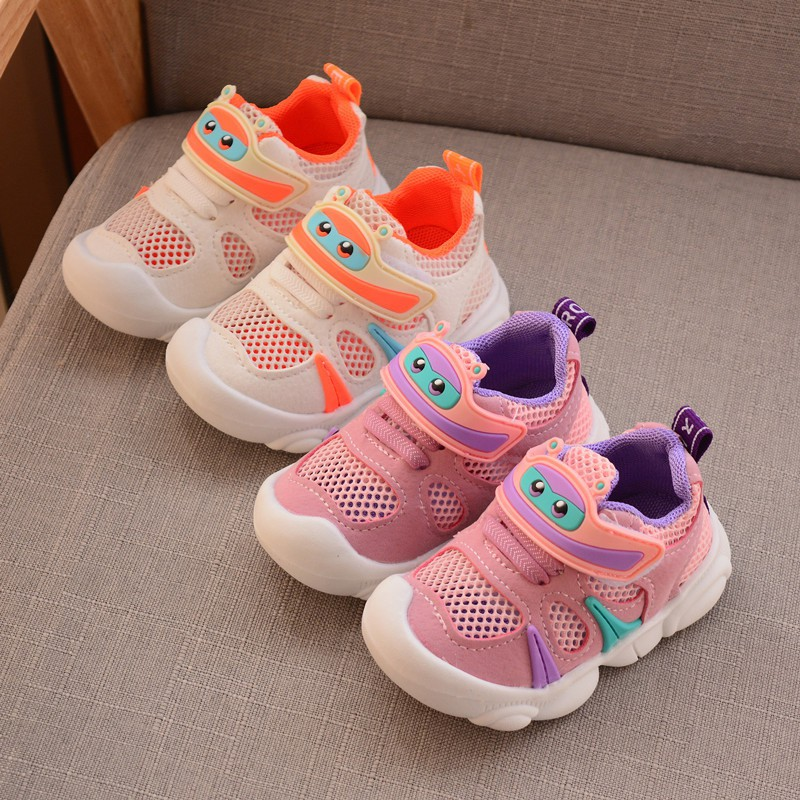 Summer Baby Boys Girls   Breathable Hollow Out Shoes Cute Casual Anti-Slip Soft Soled Sport Shoes(China)