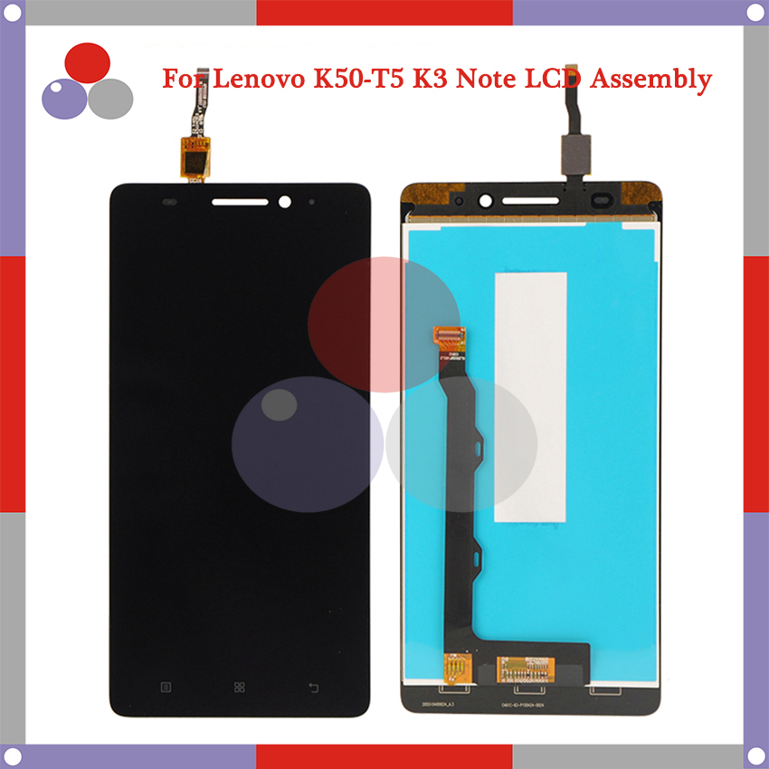 Highest quality For Lenovo K50-T5 K3 Note K50-t LCD Screen Display + Touch Screen Digitizer Assembly Free Shipping highest quality 5 0 for lg k series k5