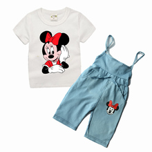 Short Sleeve Two Piece Cotton Clothing Set