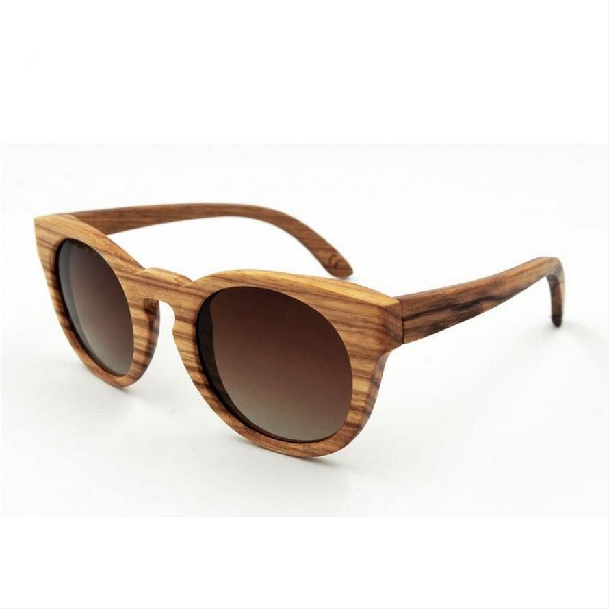 factory direct retro handmade wooden frame sunglasses polarized glasses colorful mirror male female sunglasses wood