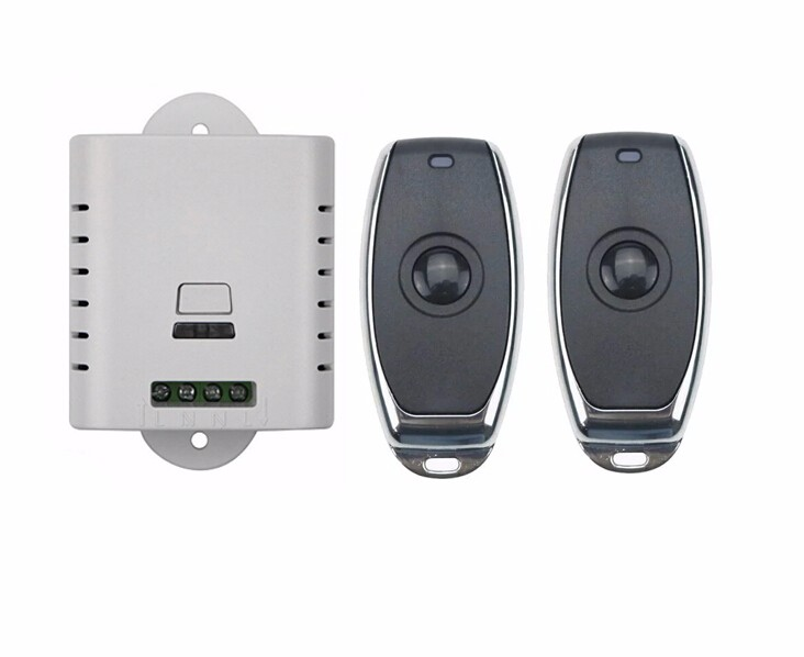 2016 new AC 85v 110v 120v 220v wireless remote control switch with manual button 1 receiver +2 transmitter selflock new restaurant equipment wireless buzzer calling system 25pcs table bell with 4 waiter pager receiver