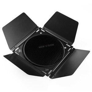 Image 4 - Godox BD 04 ahır kapı + petek izgara + 4 renk filtresi standart reflektör