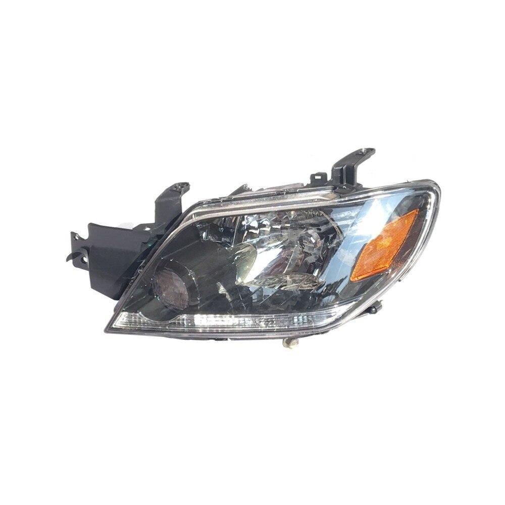 1Pcs Headlight MR991925 Driver Side LH Front Bumper Headlamp for Mitsubishi Outlander 2003-2006 mr northjoe front