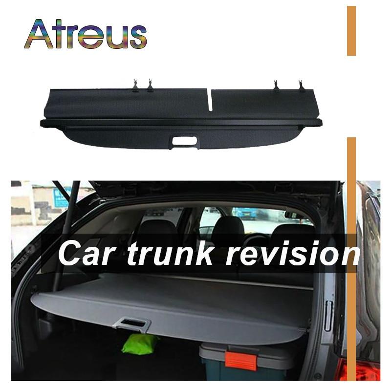 Atreus High Quality 1set Car Rear Trunk Security Shield Cargo Cover For Ford Edge 2011 2012