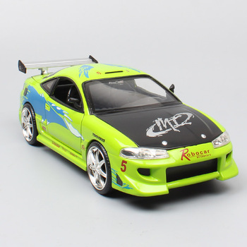 1:24 Scale jada brian's 1995 Mitsubishi Eclipse GTR Diecasts & Toy Vehicles metal car models toys auto thumbnails for collection image