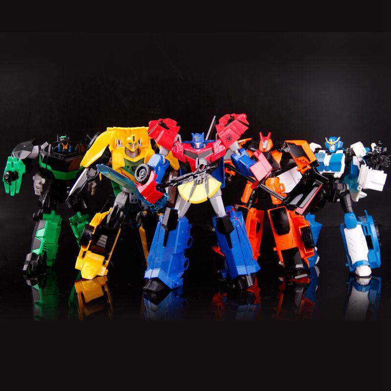 New Anime Car robot Deformation Toys Action Figure Transformation Robot Car Toys juguetes  Model Toy boys juguetes for gifts new original transformation 5 robot toy deformation car robot action figures toys brinquedos children toys gifts