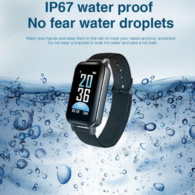 T89 TWS Smart Binaural Bluetooth Headphones Fitness Bracelet Heart Rate Monitor Smart Wristband 4