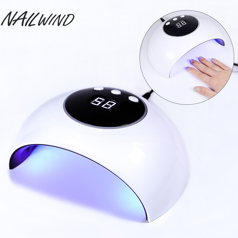 NAILWIND uv led Hybrid Nail Lamp 36W For Drying Nails the newest 2018 of all Polisher Machine Material Curing nail dryer