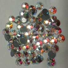 free shipping !!!AAAAAA dmc hot fix strass with fancy cutting ss16 crystal  ab 7200 pcs per pack wholesale for t shirt-in Rhinestones from Home    Garden on ... 2880f8ed756a