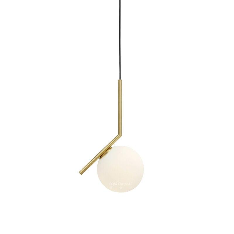 Hot Sale Simple postmodern style pendant lamp white glass ball lamp lamp pendant light modern nordic lighting
