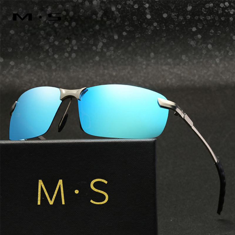 MS Polarized Sunglasses Male Fishing Female Outdoor Sports Eyewear For Men S Men Driver Mirror Sun glasses