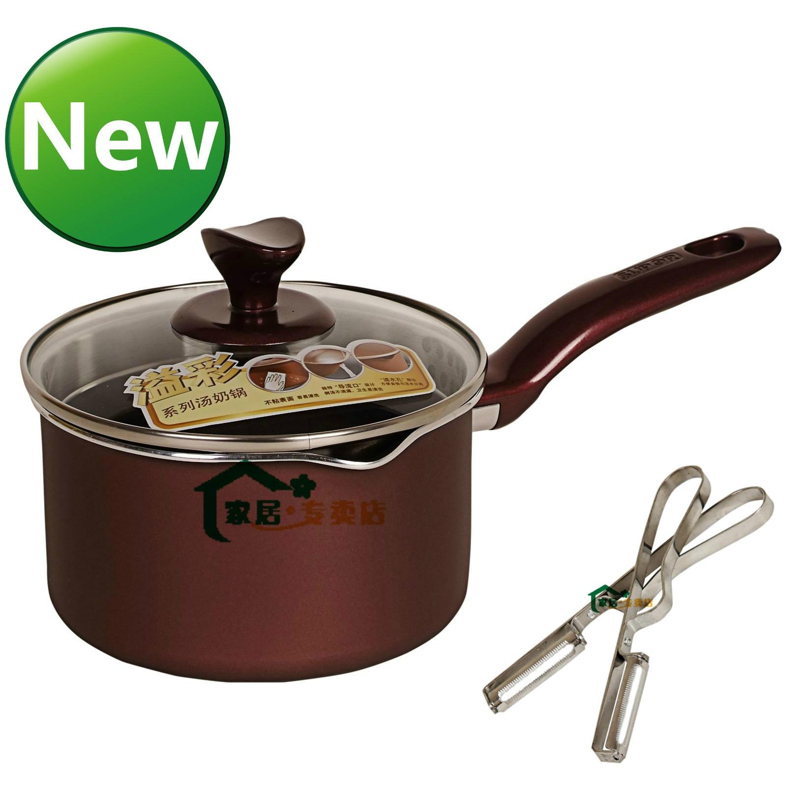 Hot selling non stick milk pot subor pt16k1 small soup pot small sauceboxes paring font b