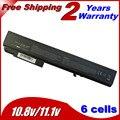 Bateria de 6 células do portátil para HP EliteBook 8530 P 8530 W 8730 W 8540 P 8540 W 501114 - 001 HSTNN-LB60 HSTNN-OB60 KU533AA HSTNN-XB60 5200 MAH