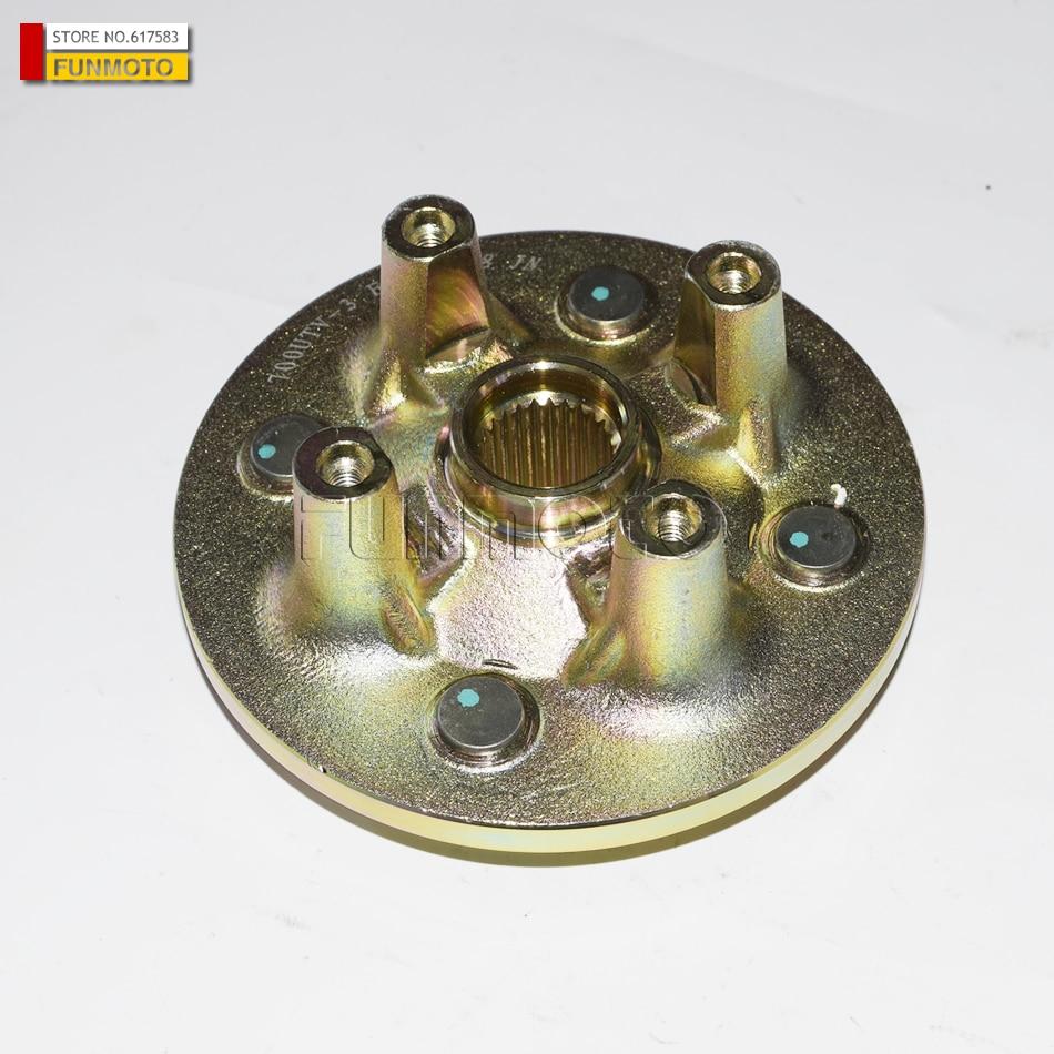 Roue de montage support de roue hub costume pour HISUN 500