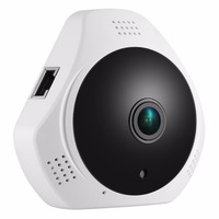 360 Degree Fish-eye 960P HD Panoramic IP Camera 1.3MP Wireless Security Camera & Two-Way Audio, Night Vision , Motion Detection