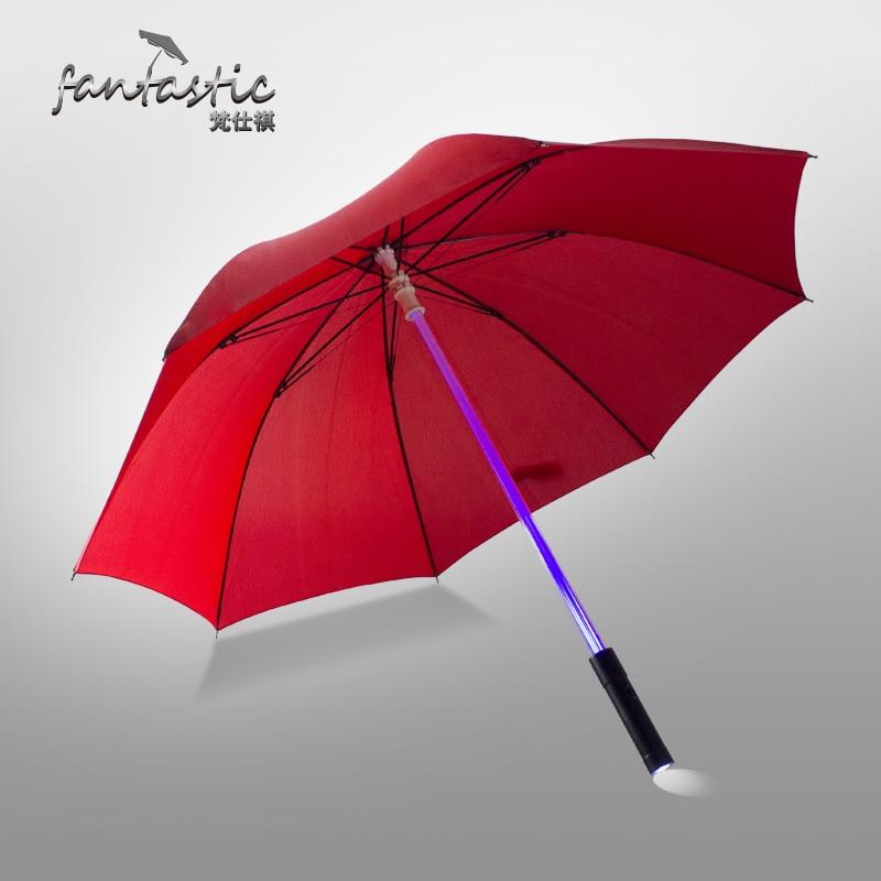 fashion novelty electronic handle star wars lightsaber LED creative lighting umbrella chinese male umbrella